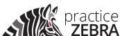 practice zebra